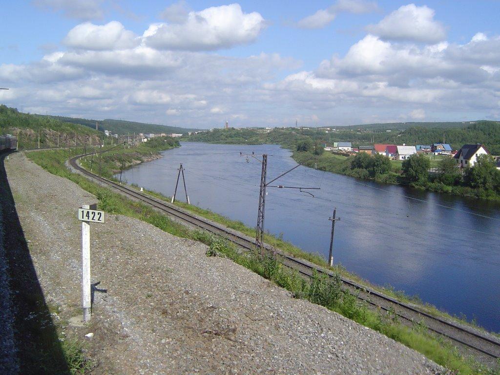 Kilometer 1422 von St. Petersburg nach Murmansk, Кильдинстрой