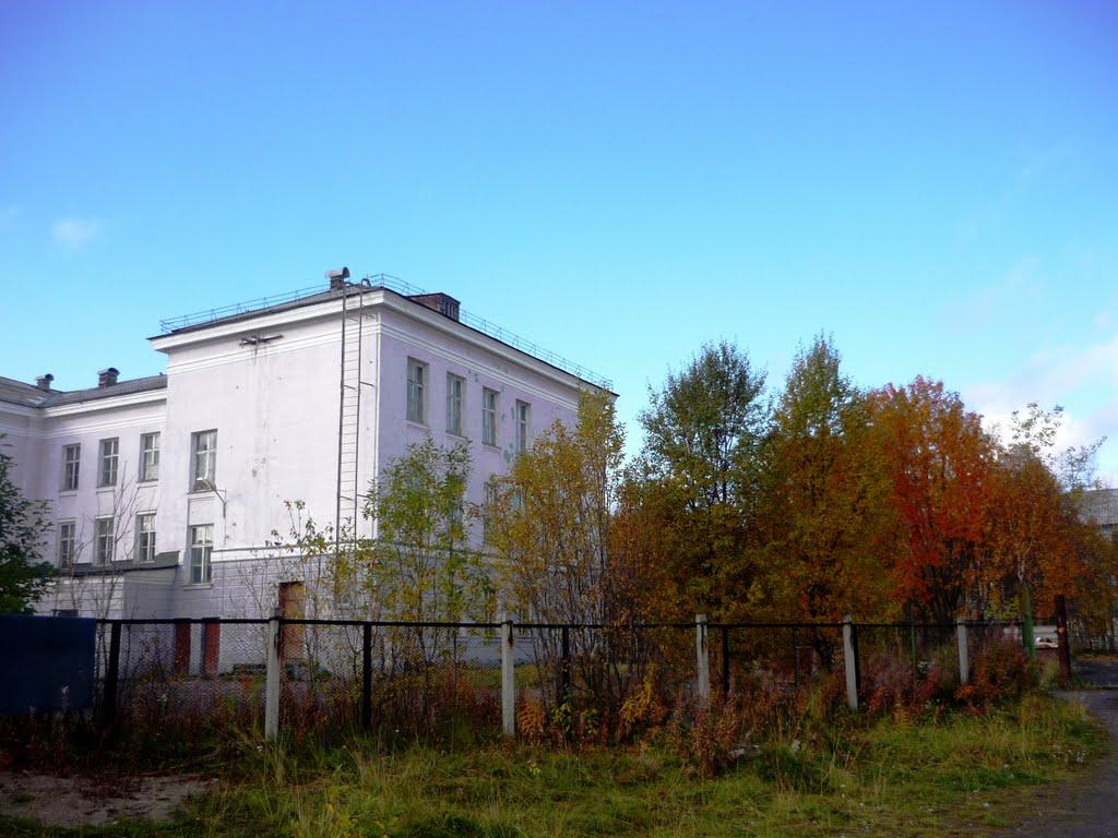 Кольская школа № 1, Кола