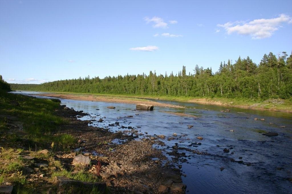 Lebyajya (Swan) River, Конда