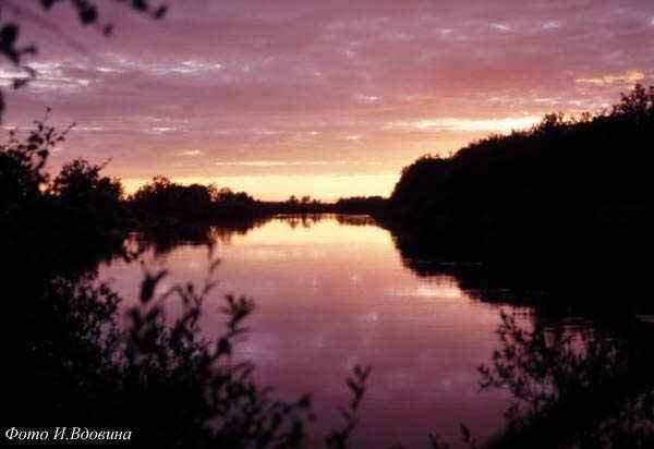 Река Йоканьга, Конда