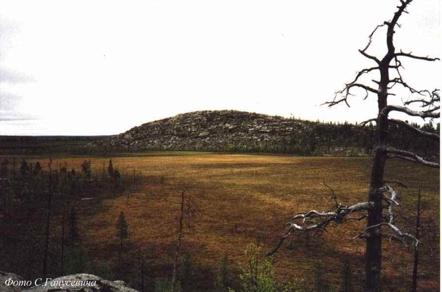 Вид на Девичью гору, Конда