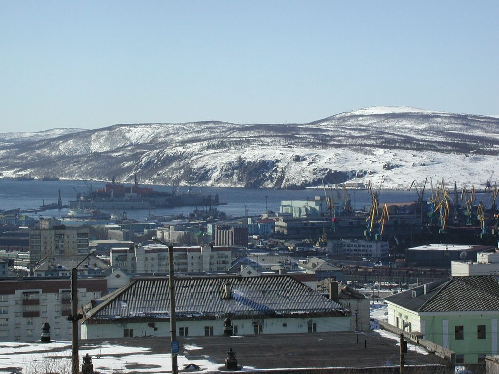 port of Murmansk, Мурманск