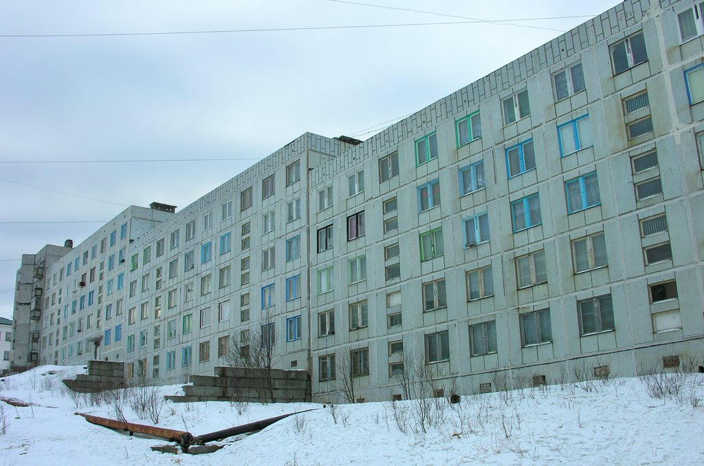 Apartment building, Полярный