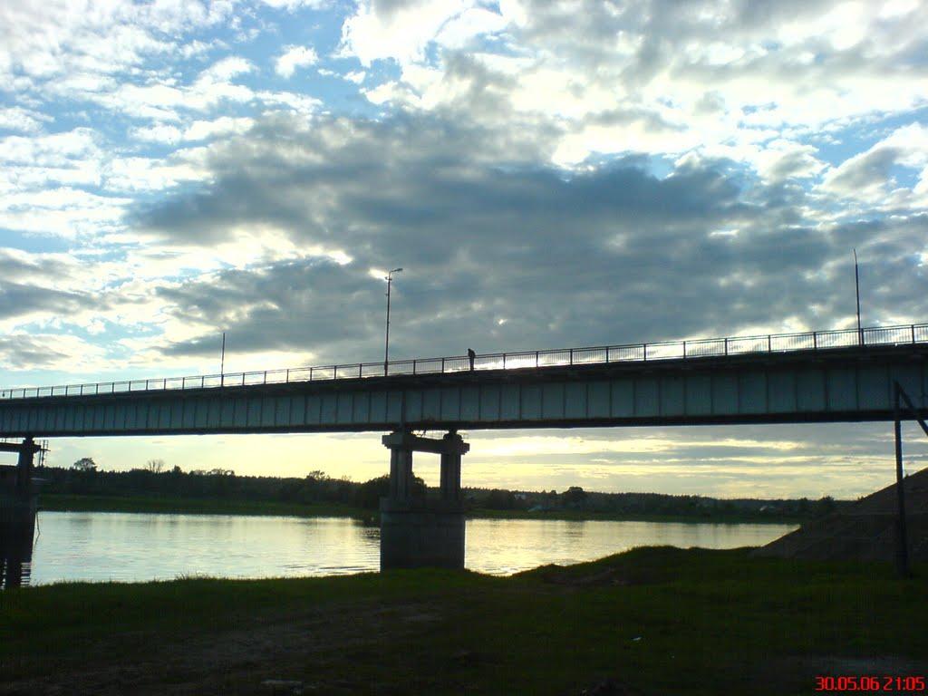 Автомобильный мост, Парфино
