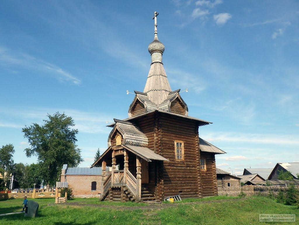 Детская церковь, Большеречье, Большеречье