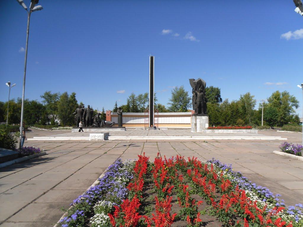 памятник победы, Калачинск