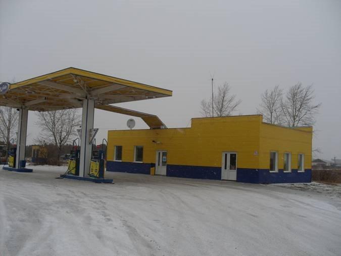 Заправочная станция Топ Лайн, Оконешниково