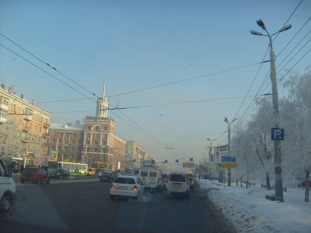 Ленинградская площадь, Омск