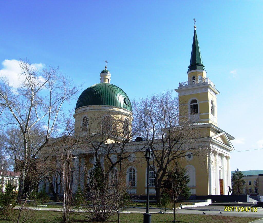 Свято-Никольский казачий собор. Россия, Омск, Омск