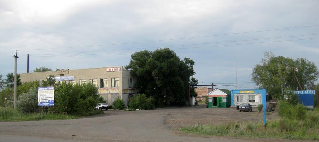 шиномонтажка, Павлоградка