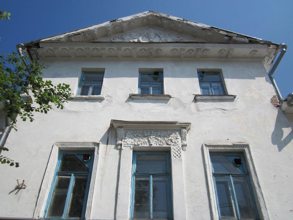 Тарский медицинский колледж (дом купца И.Ф. Нерпина), Тара