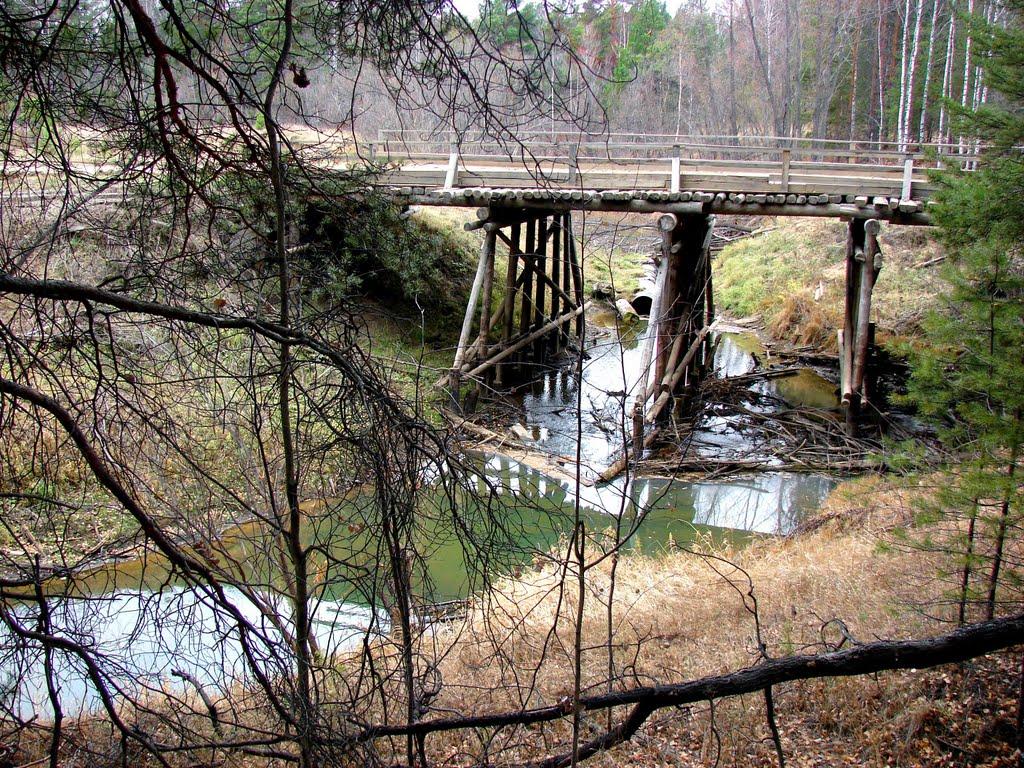 Мост через р. Тевриз, Тевриз