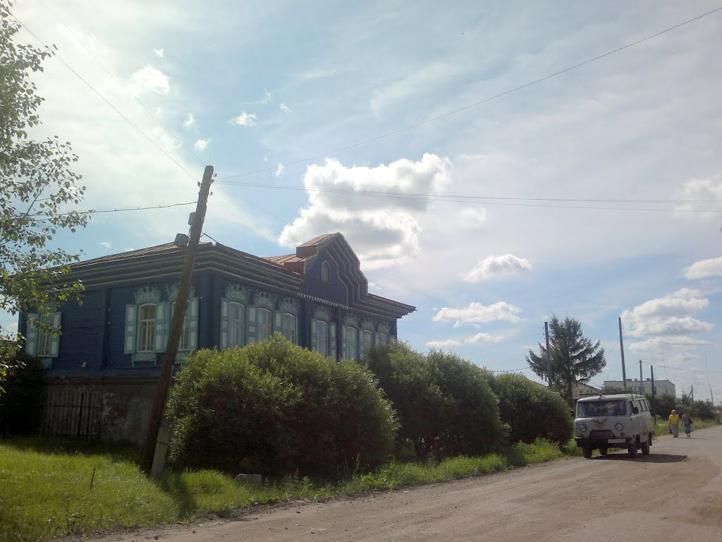домик, Тюкалинск