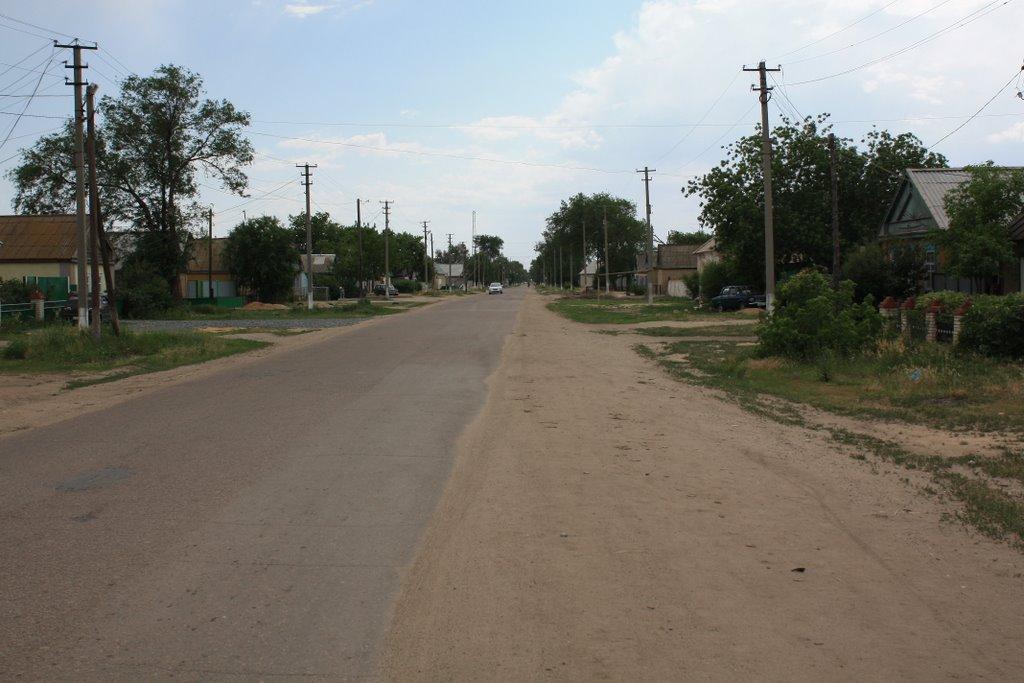 Акбулакская улица, Акбулак