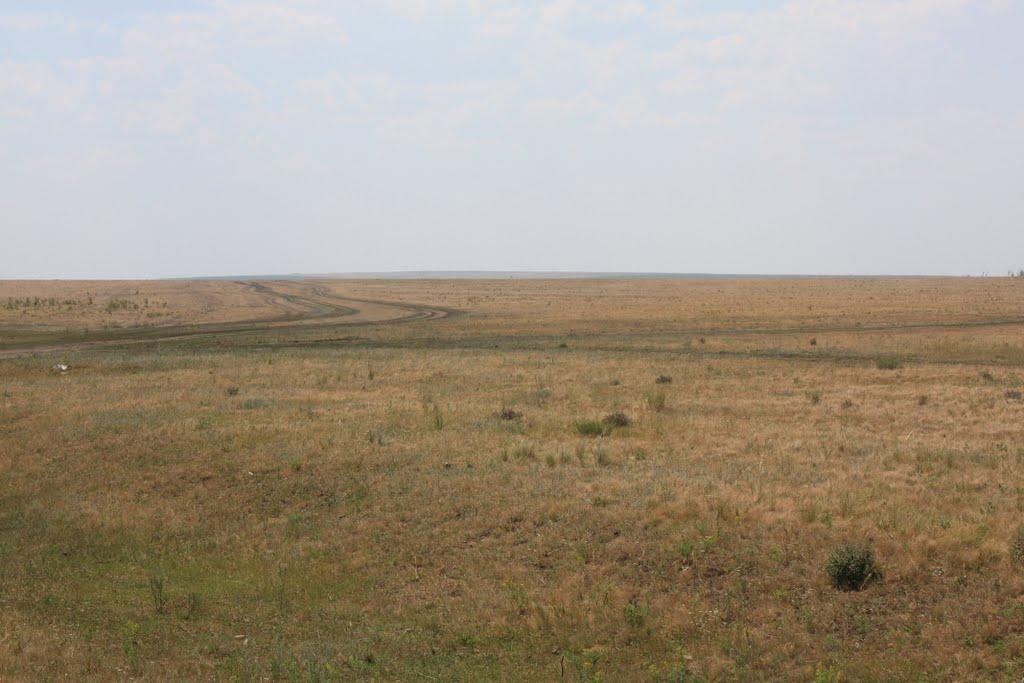 Степь южнее Беляевки, Беляевка