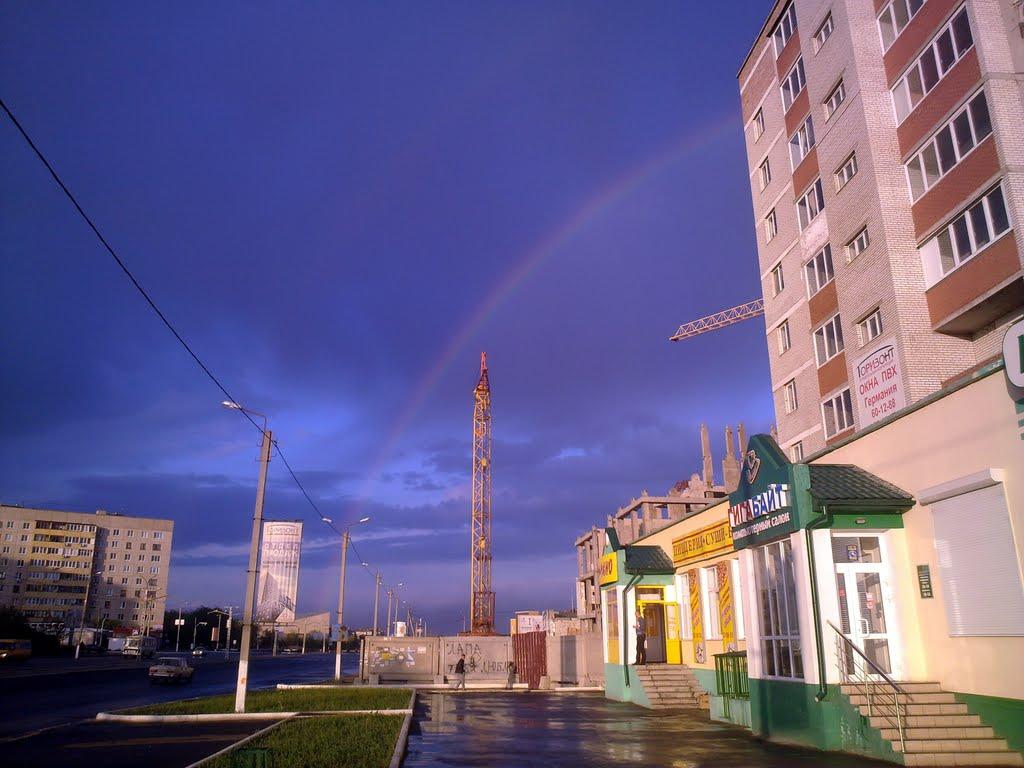 После дождя. г.Новотроицк, Новотроицк