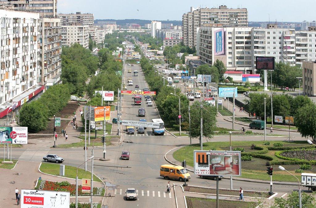 Оренбург. Улица Чкалова. 2005г., Оренбург