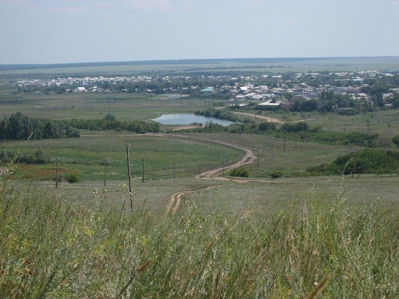 Вид на Первомайский, Первомайский