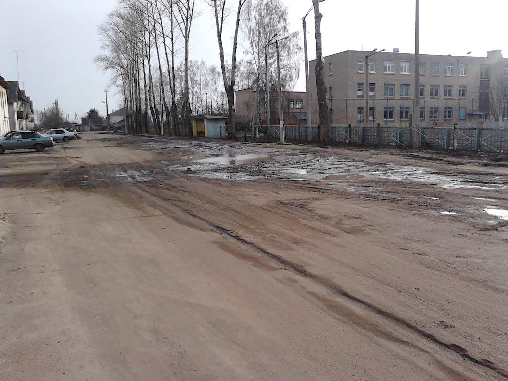 Машины ГЛАВПРОДУКТа разрушили дорогу, Верховье
