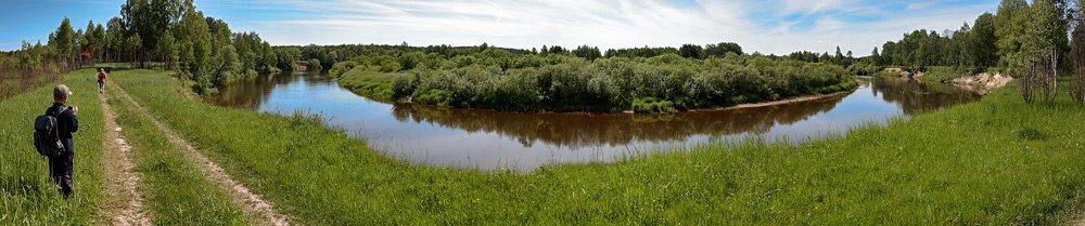 Zhizdra river, Знаменское