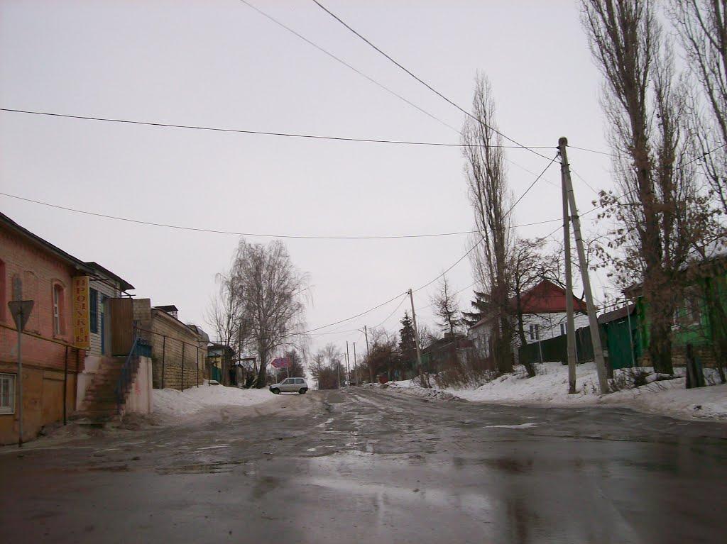 Ливны. Улица Аникушкина, Ливны