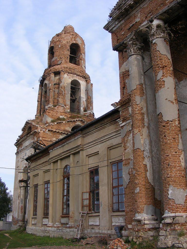 Церковь Воздвижения Креста Господня, Мценск