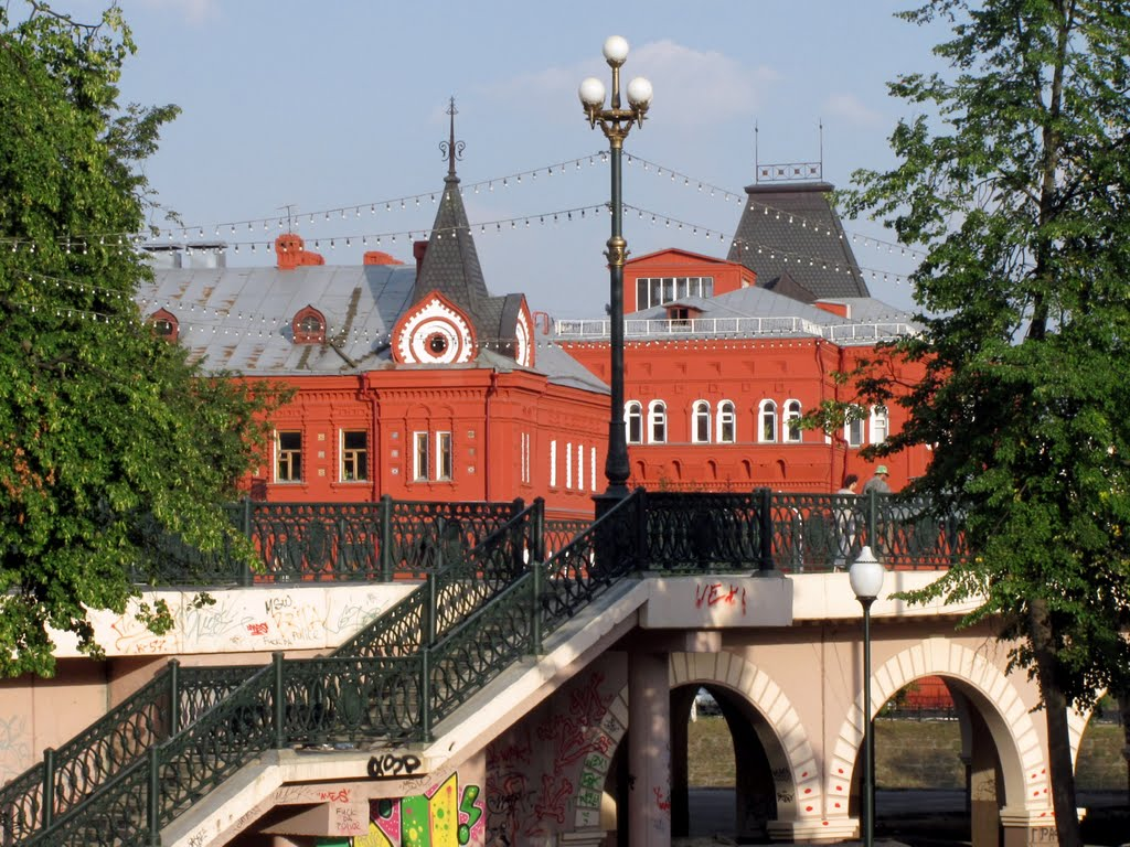 Александровский мост, здание ЦБ, Орел