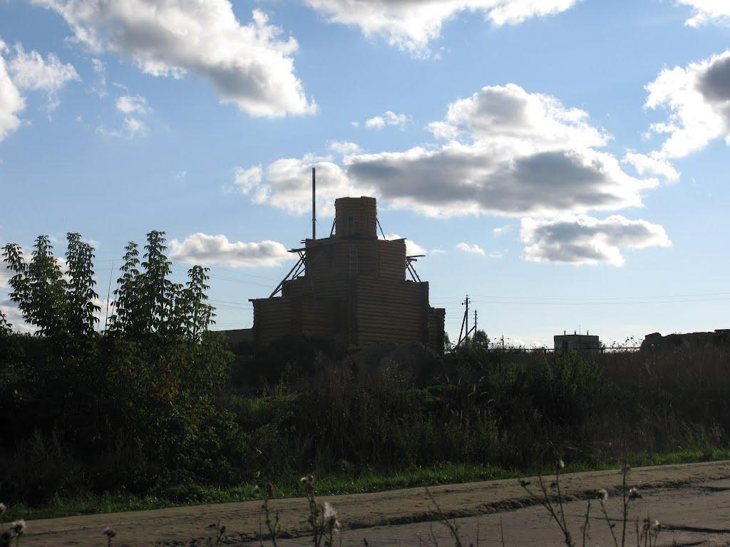 Строительство церкви в Васильевке, Беднодемьяновск