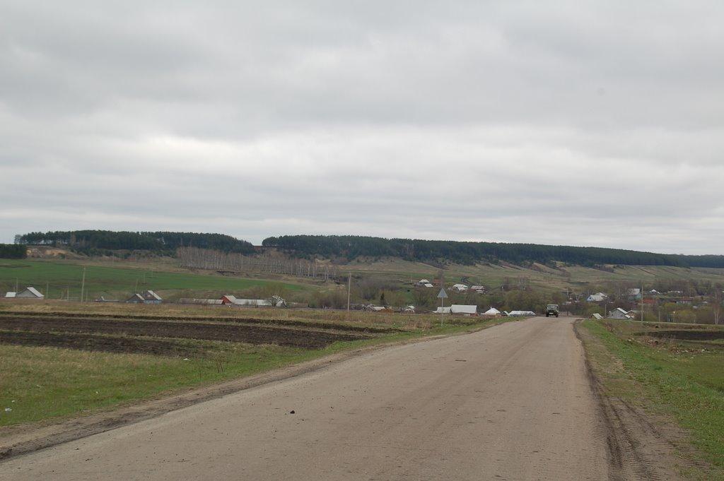 Вид на Вадинск, Вадинск