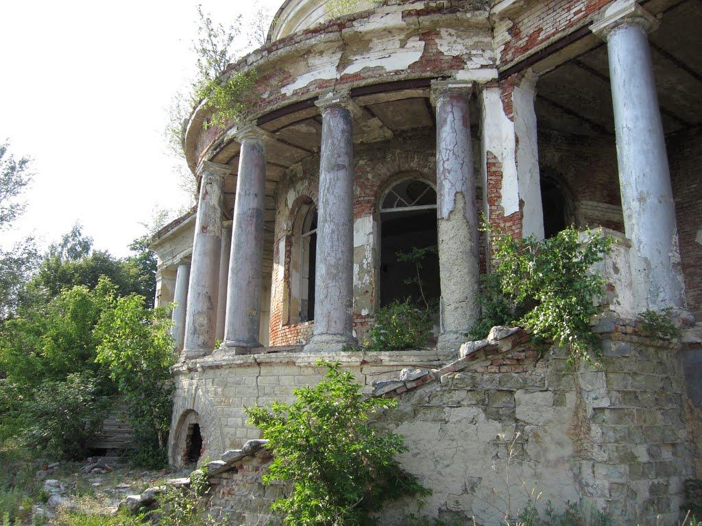 Усадьба Воейкова в Каменке, Каменка