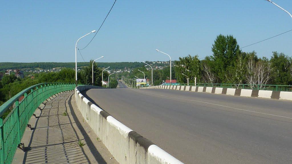 г.Каменка Пенз.обл. мост в направлении (старой) Каменки, Каменка
