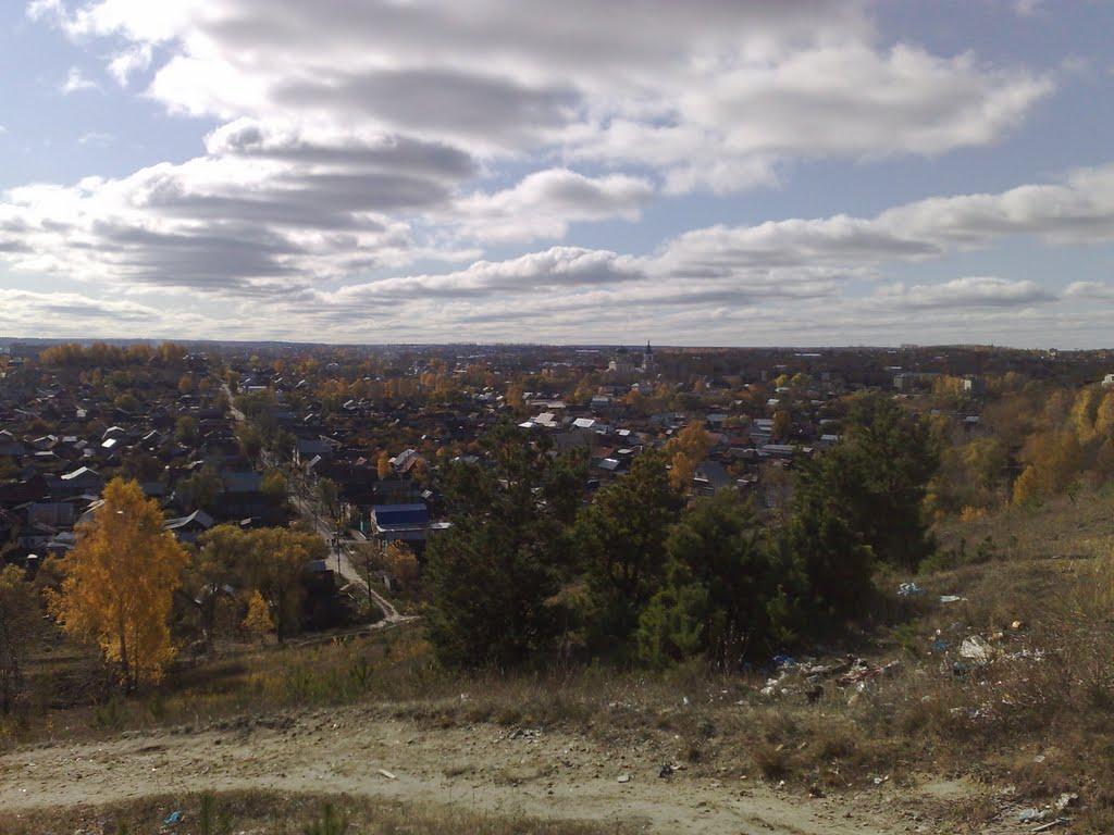 Вид на город, Кузнецк