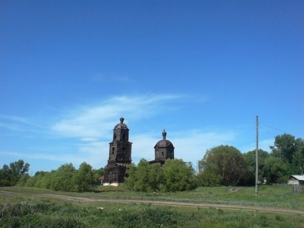 Деревянная церковь, Неверкино