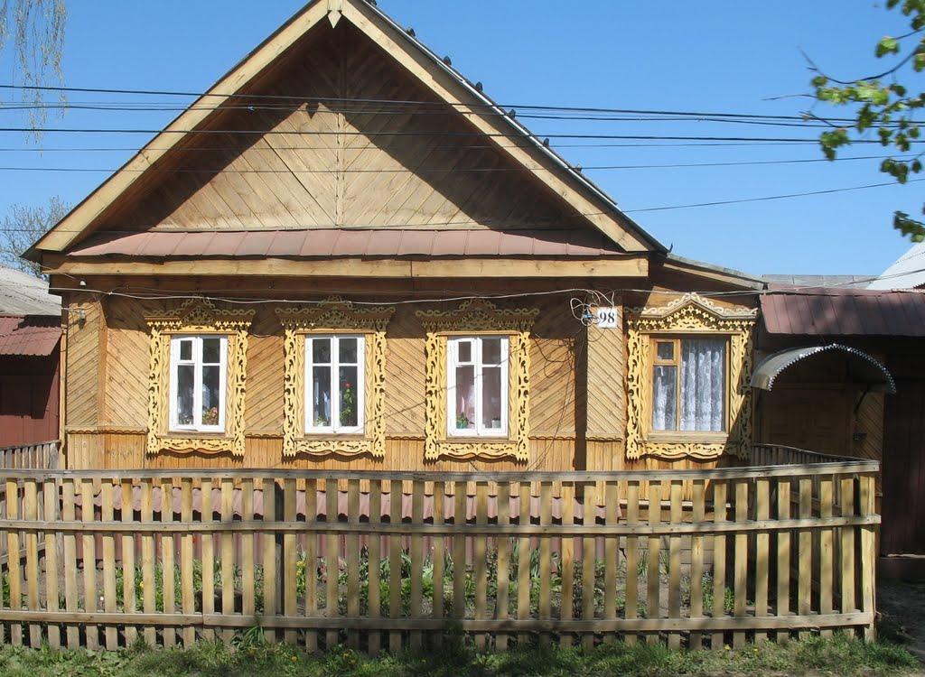 Резные наличники, Никольск