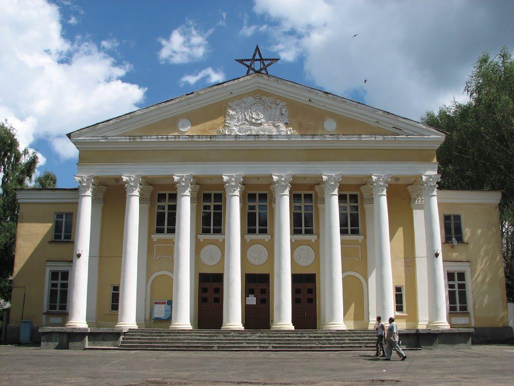 Никольск. Дом культуры 26/VII.2008, Никольск