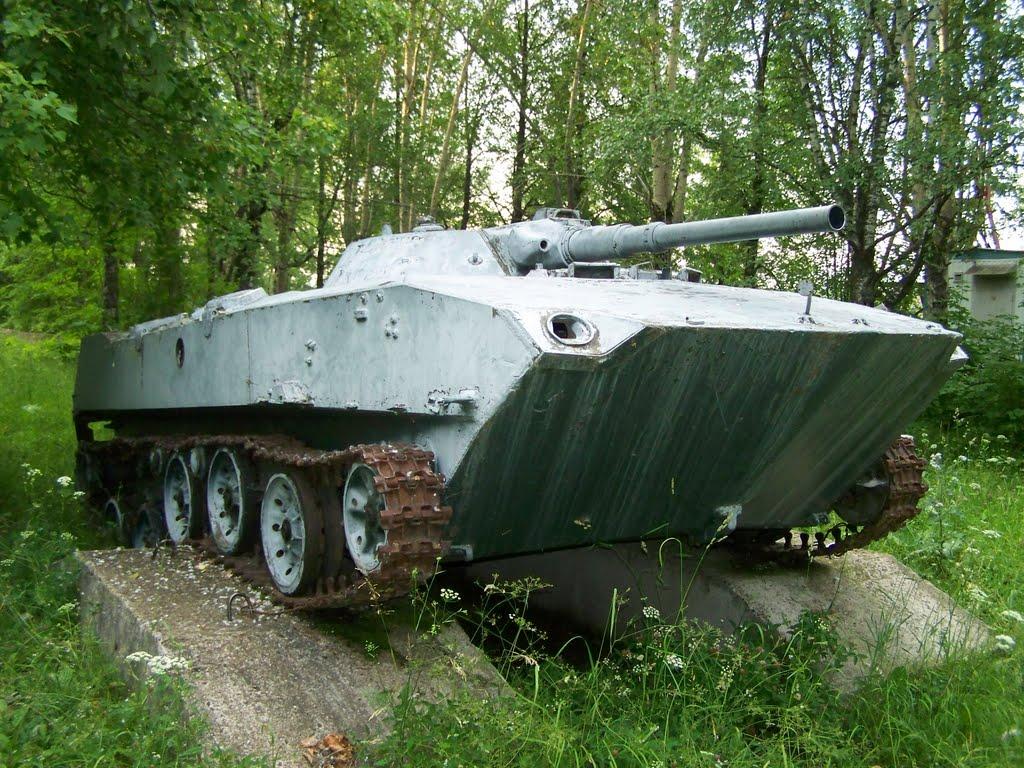 Заброшенный танк, Керчевский