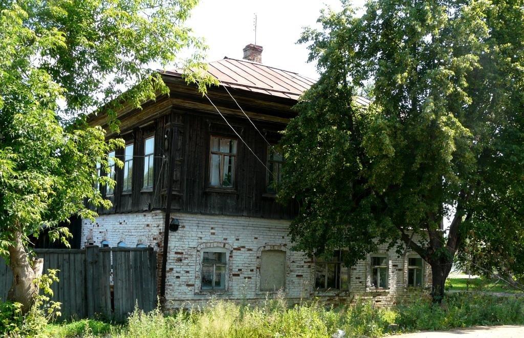 Типичный дом 19 в, Оханск