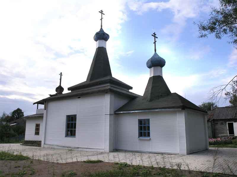 Кунья. Церковь Патриарха Тихона., Кунья