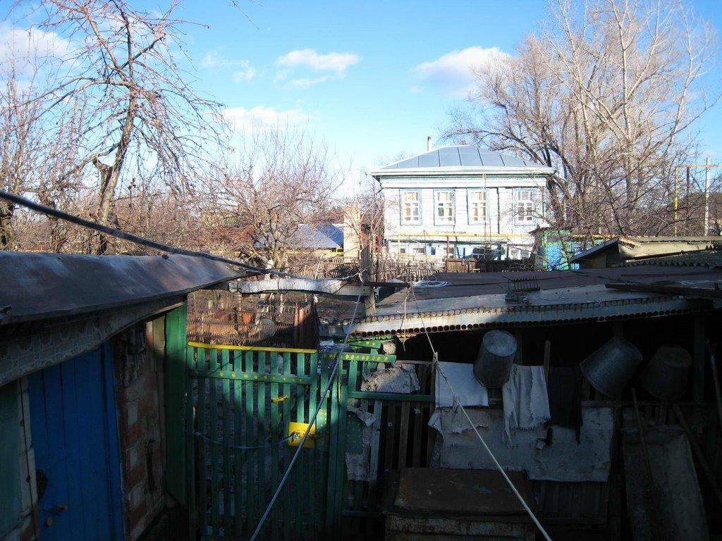 Домики в железнгодарожном районе, Морозовск