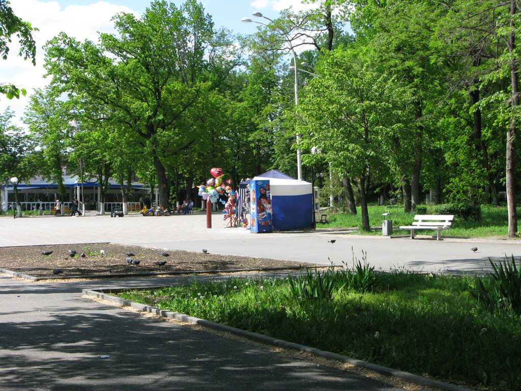 Центральный Парк Культуры и Отдыха, Шахты