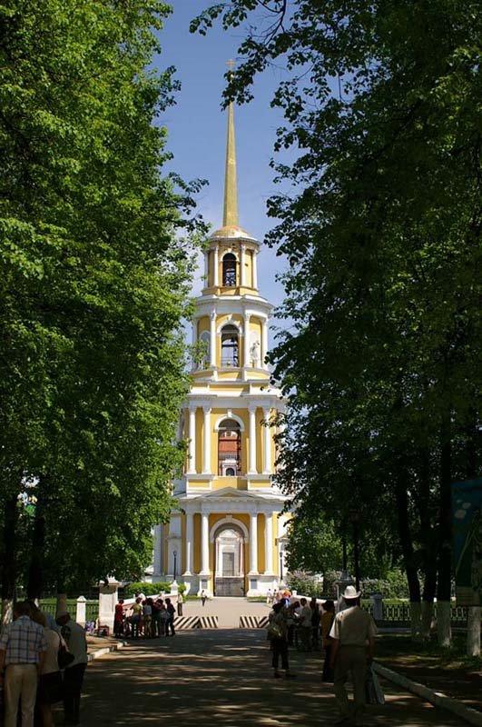 Колокольня Успенского собора / Belfry of the Assumption cathedral (19/05/2007), Рязань