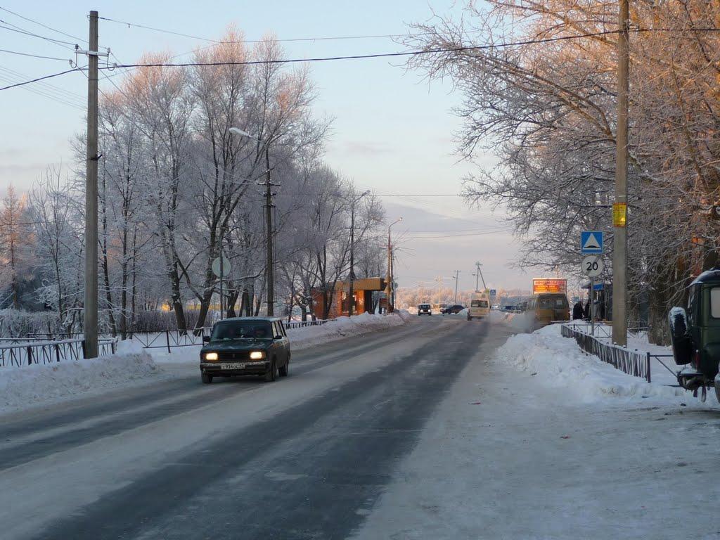 У бассейна, Коммунар