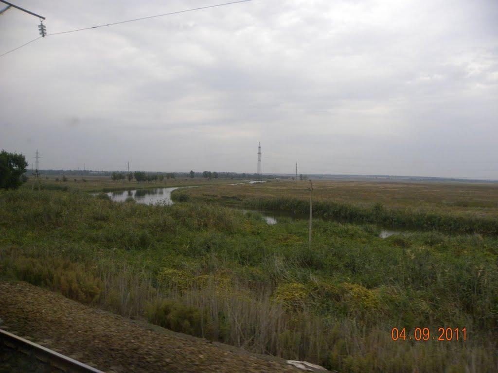 река Аксай, Александровская