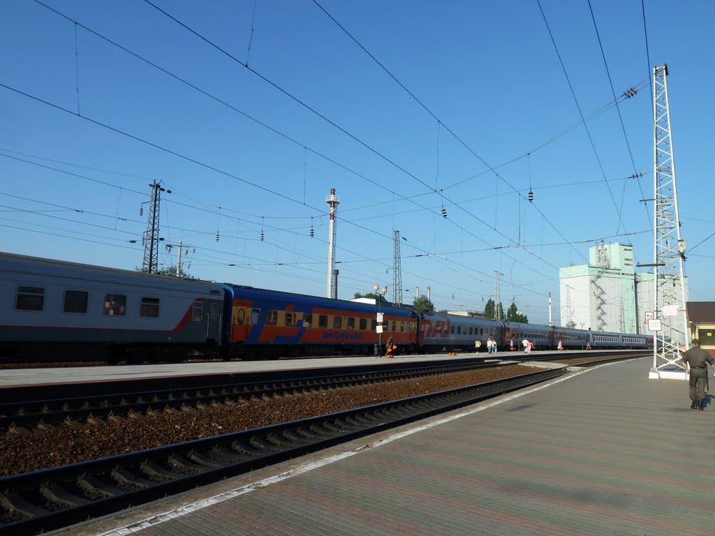 На станции Новочеркасск, Александровская