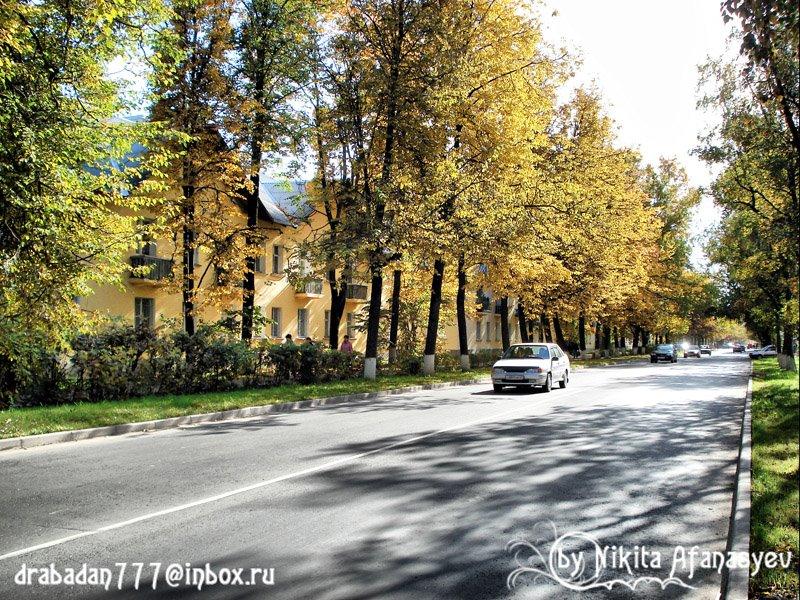 Улица Молодёжная (street Molodeznaya), Волхов