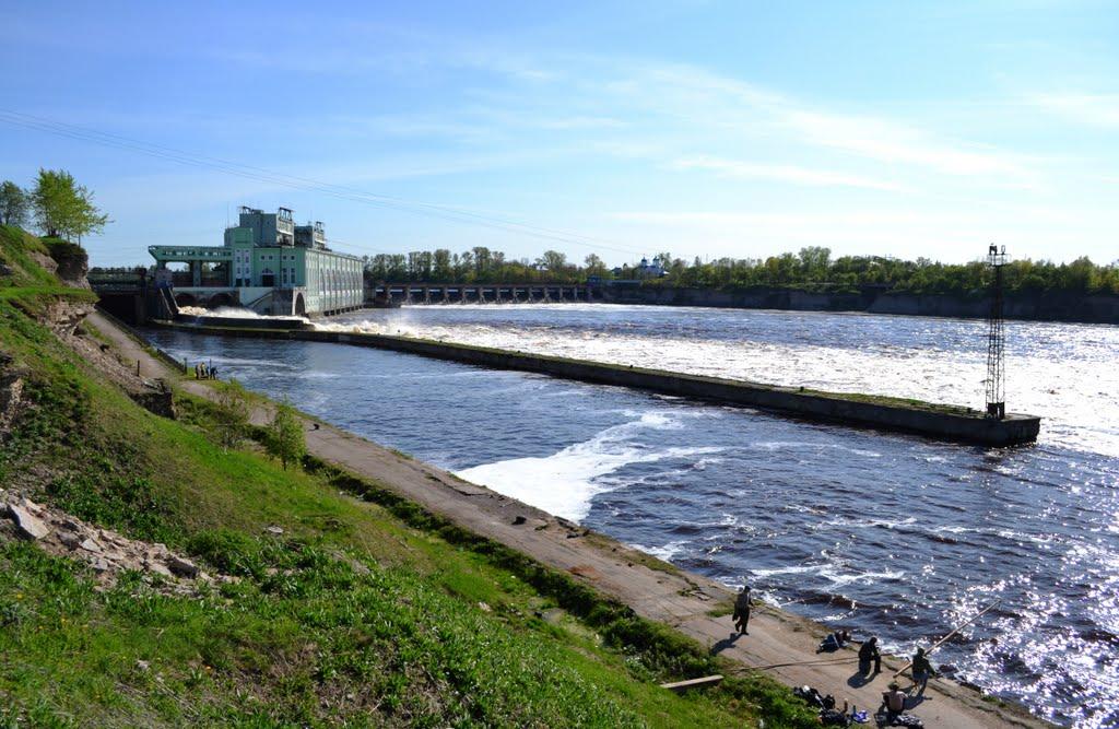 Волховская гидроэлектростанция., Волхов