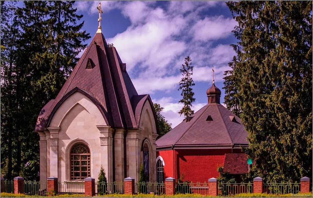 Orthodox Temple at the  Road of Life / Храм Спаса Нерукотворного Образа на Дороге Жизни с новой крестильней, Всеволожск