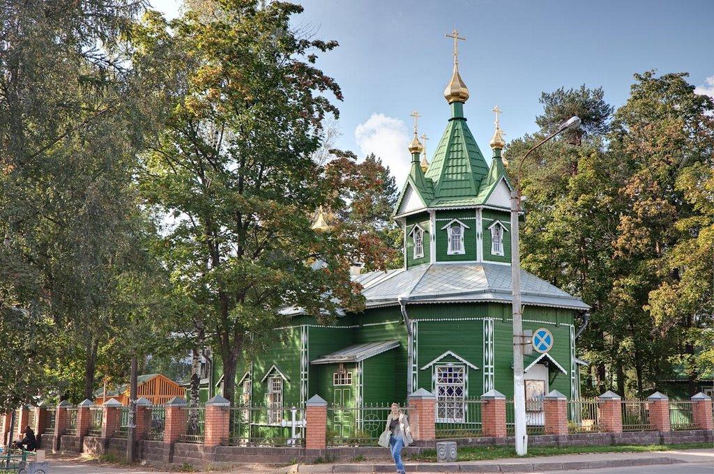 Свято-Троицкая церковь; 12.09.2009, Всеволожск