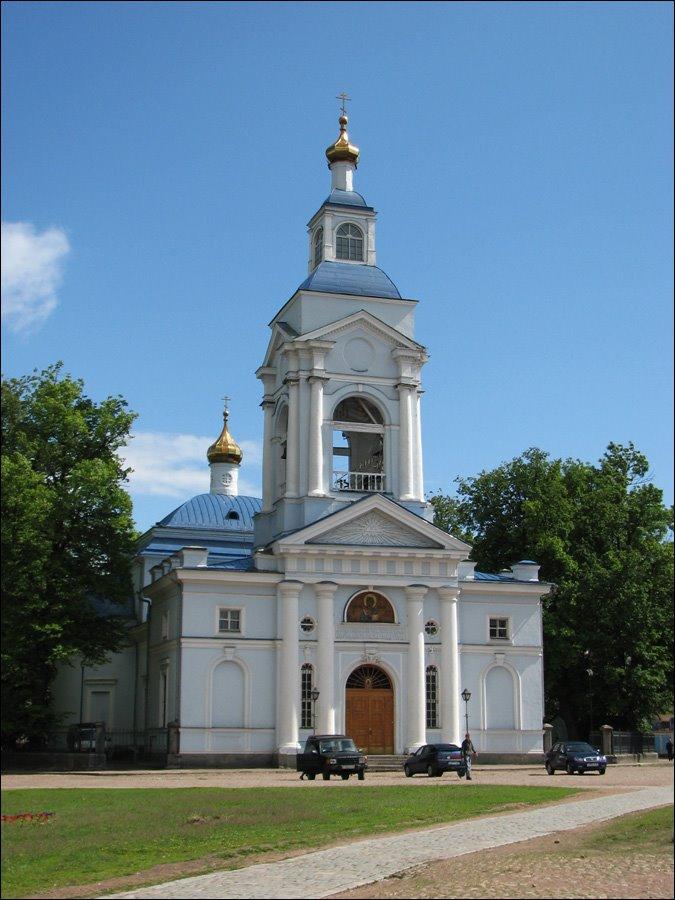 Vyborg. Spaso-Preobrazhenskaya church., Выборг