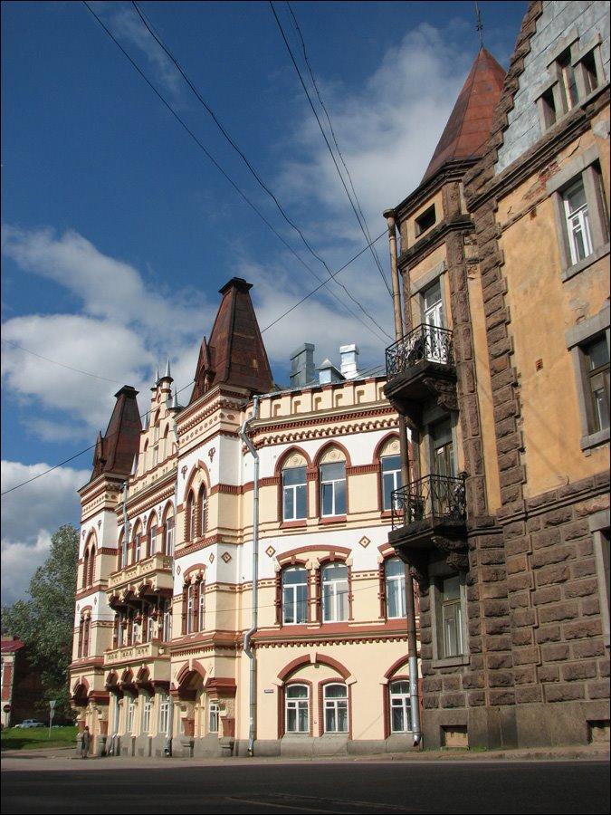 Vyborg. Pedagogical college., Выборг